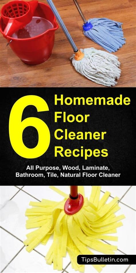 Diy Wood Floor Cleaner Natural Recipe